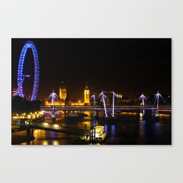 The Thames View Canvas Print
