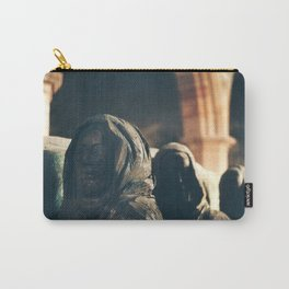 Pallbearer Statue, Lindisfarne Church Carry-All Pouch