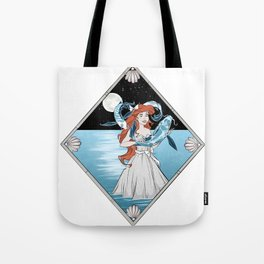 Little Mermaid & Volans Tote Bag