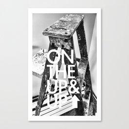 Ladder Progression Canvas Print