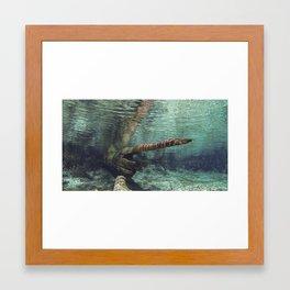 clear intention Framed Art Print