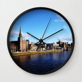 On The Bridge - Inverness - Scotland Wall Clock