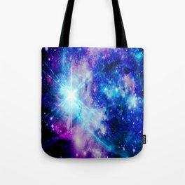 galaxy Nebula Star Tote Bag