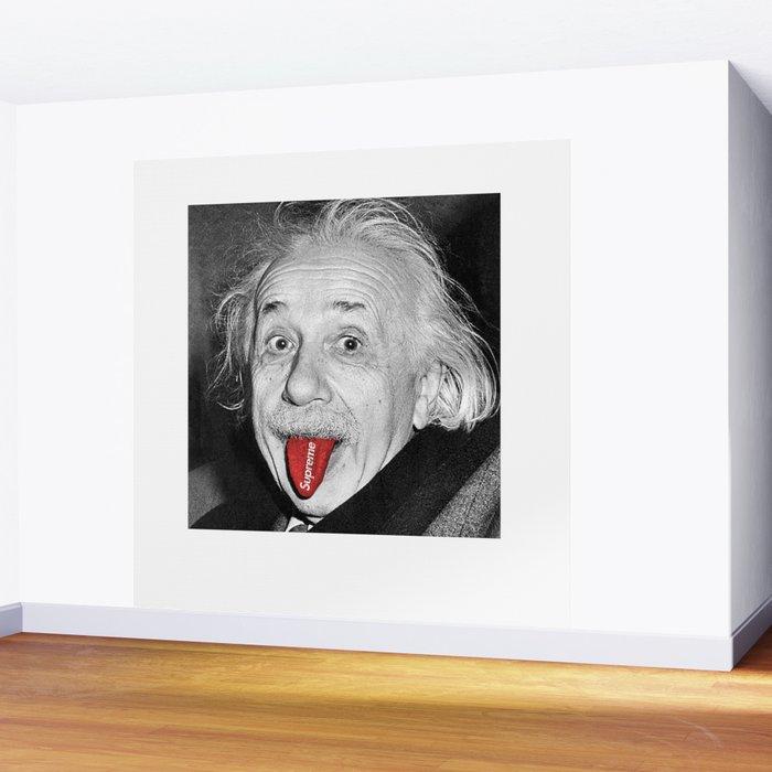 Albert Supreme Einstein Wall Mural