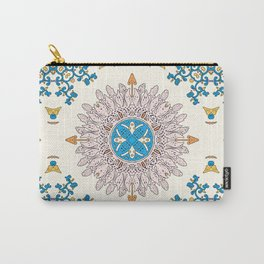 Sunny day Mandala Carry-All Pouch