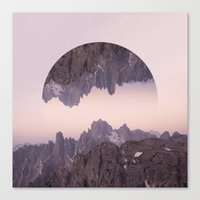 witchoria Canvas Prints featuring Cliffhanger by witchoria
