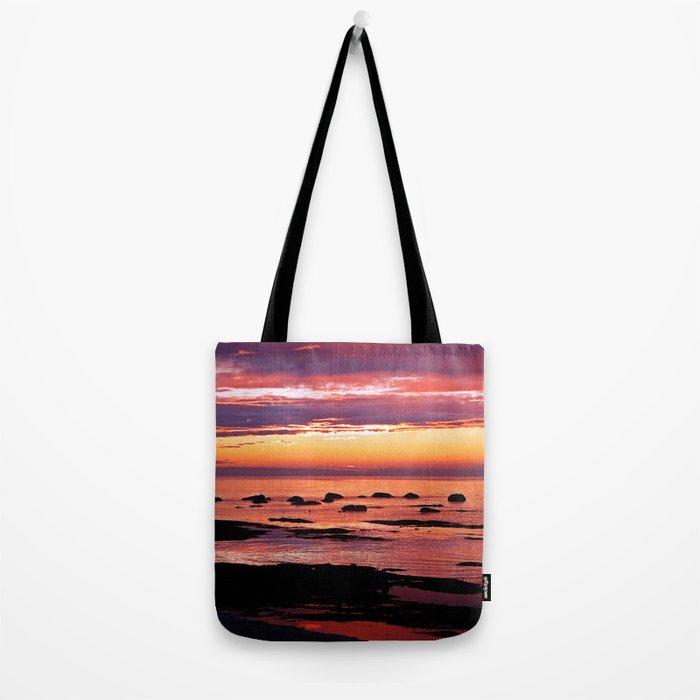 Sainte-Anne-Des-Monts Signature Sunset Tote Bag