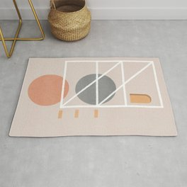 Home abstraction Rug