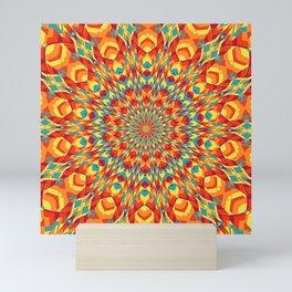 Summer Mandala 7 Mini Art Print