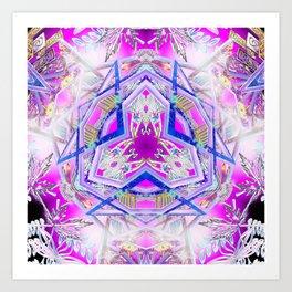 Holographic Matrix Art Print