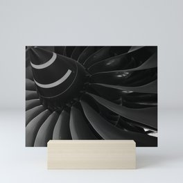 Turbine Blades Mini Art Print