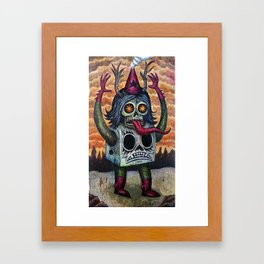 The Blood of Cain Framed Art Print