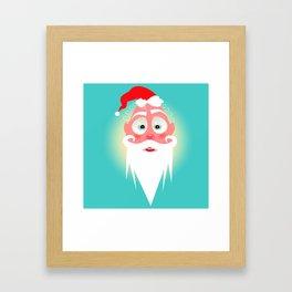 Santa Lolo/ Character & Art Toy design for fun Framed Art Print