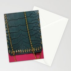 Pink Chain Clutch Stationery Cards