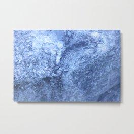 Travertine Rock Formation Metal Print