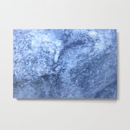 Travertine Rock Formation Metal Print