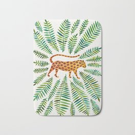 Jaguar – Green Leaves Bath Mat