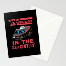 THE A-TEAM IN THE 21st CENTURY Stationery Cards