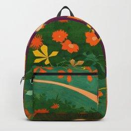 Hashiguchi Goyo - Yellow rose Backpack