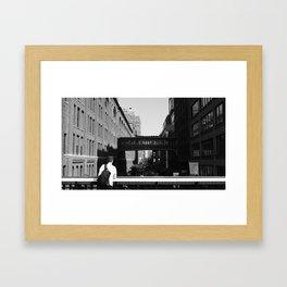 Over the High Line Framed Art Print