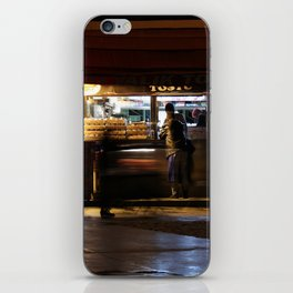 convenience store iPhone Skin