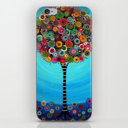 Tree of Life by Pristine Cartera Turkus iPhone Skin
