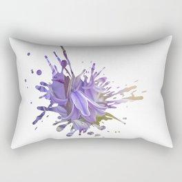 Bluebell Splatter Rectangular Pillow