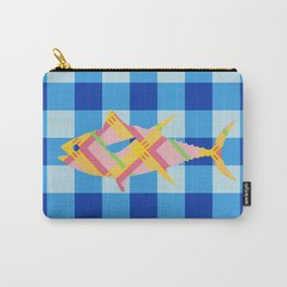 FISH STRIPES Carry-All Pouch