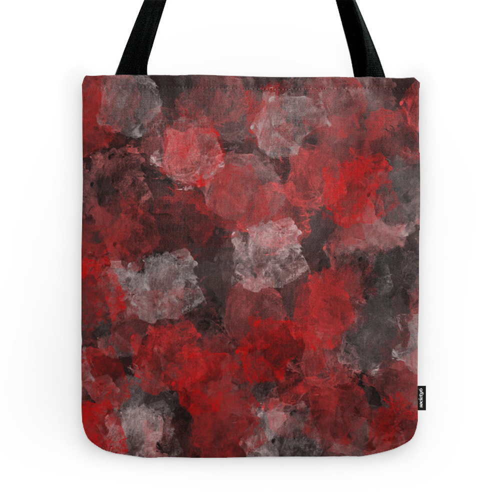 Plum Red Tote Purse by jessielee72 (TBG7377899) photo