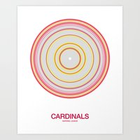 St. Louis rings Art Print