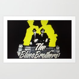 The blues brothers 1 Art Print