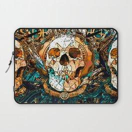 Old Skull Laptop Sleeve