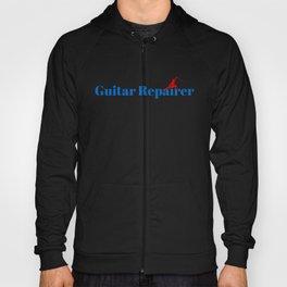 Guitar Repairer Ninja in Action Hoody