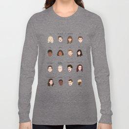 Cutie Pies of Pawnee Long Sleeve T-shirt