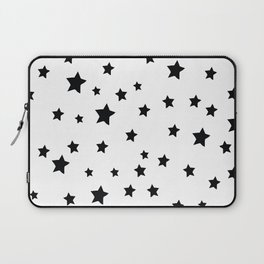 Black and White Stars Laptop Sleeve