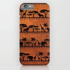 African Animal Pattern iPhone 6 Slim Case