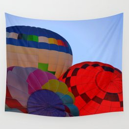 Hot Air Balloon Festival - II Wall Tapestry