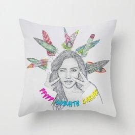 FFYDD, GOBAITH, CARIAD / Faith, Hope, Love Throw Pillow