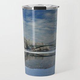 River View - Finally Looks Like Winter Travel Mug