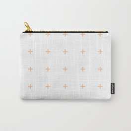 PLUS ((melon on white)) Carry-All Pouch