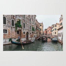 Gondola rides in Venice Rug