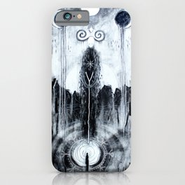 Encountering The Unseen iPhone Case