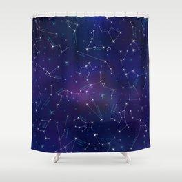 Constellation Intrigue Shower Curtain
