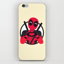 A merc with a heart iPhone Skin