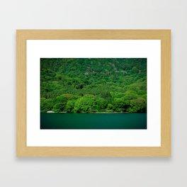 Heat Wave Hakone Framed Art Print