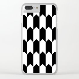 BW Tessellation 4 5 Clear iPhone Case