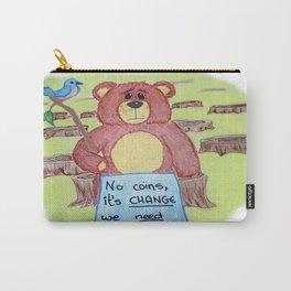 Sad bear & friend Carry-All Pouch
