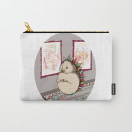 Hedgehog Artist Carry-All Pouch