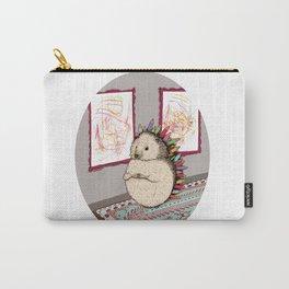 Hedgehog Artist Carry-All Pouch