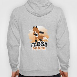 Floss Dance Move Fox Hoody